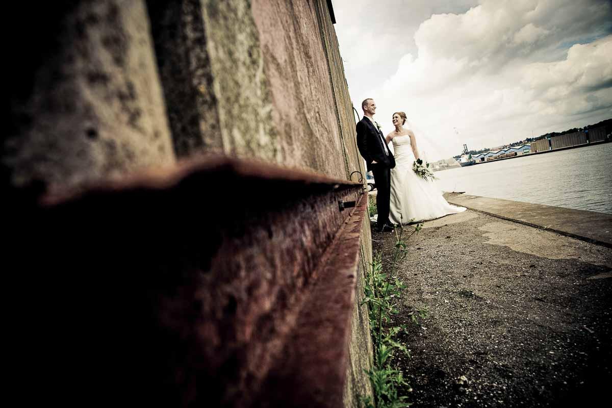 Familiefotografen laver også bryllupsbilleder