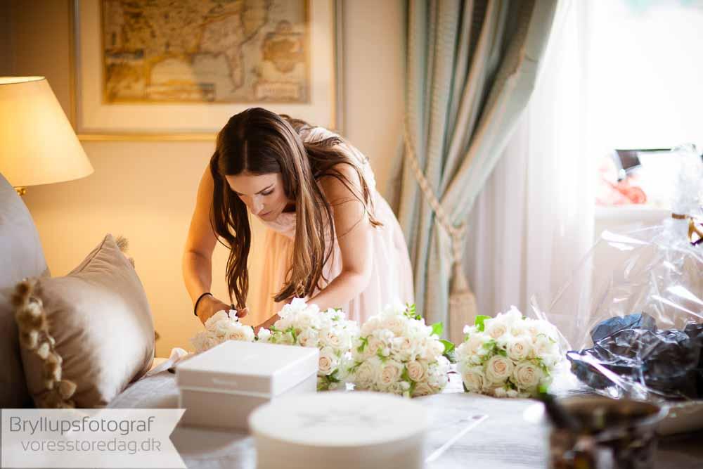 bryllupsplanlægning