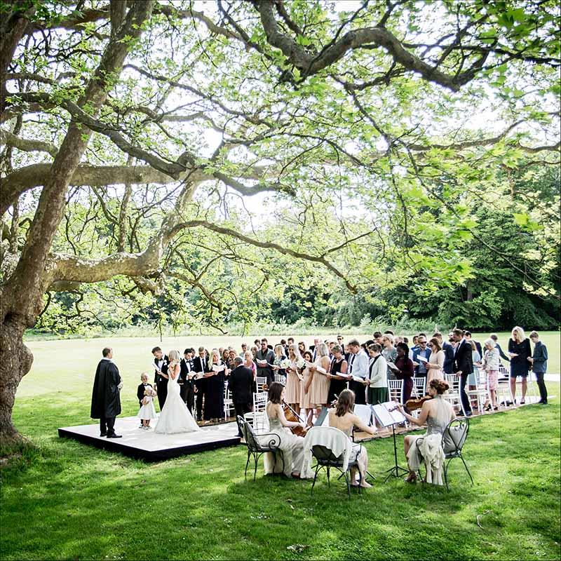 Indret dit bryllup efter årstiderne