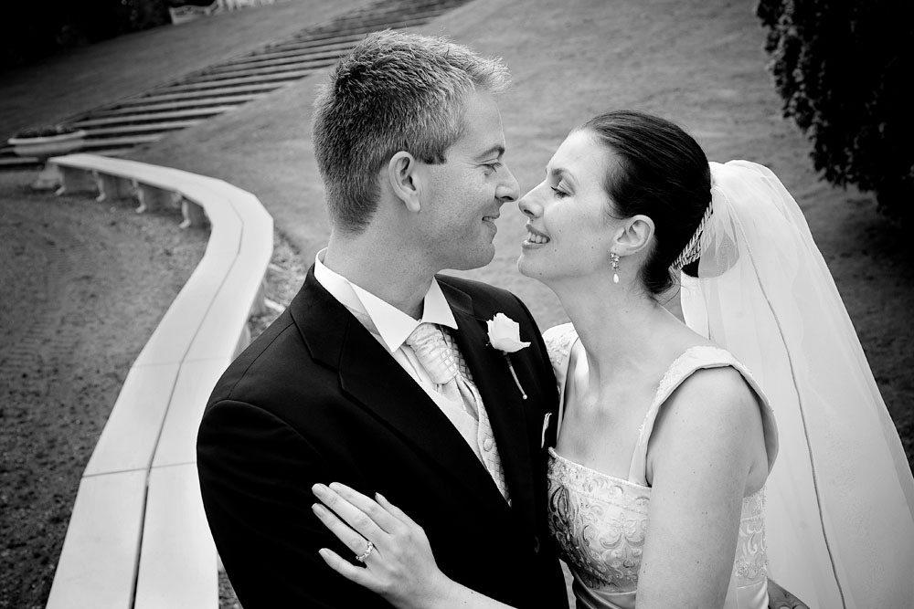 Bryllup og kys
