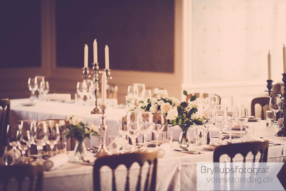 Dekoration med rispapirlamper til bryllup