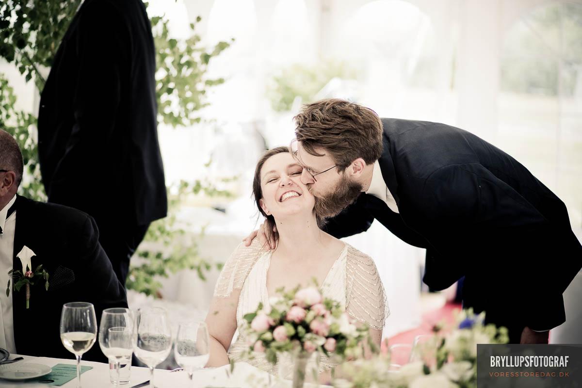 Kysseritualer ved brylluppet