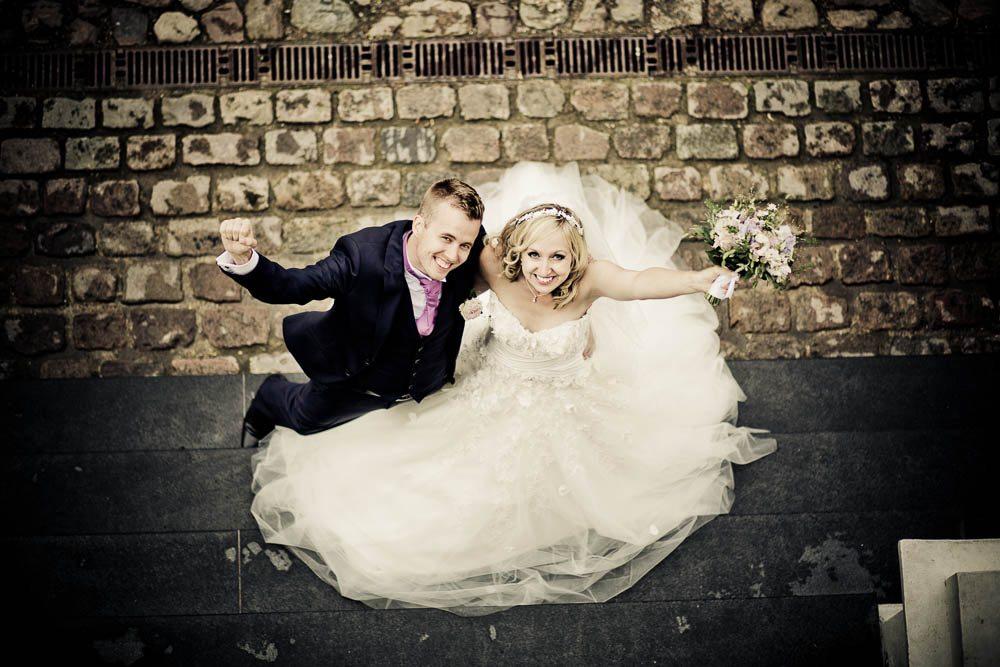Kreative og personlige bryllupsbilleder
