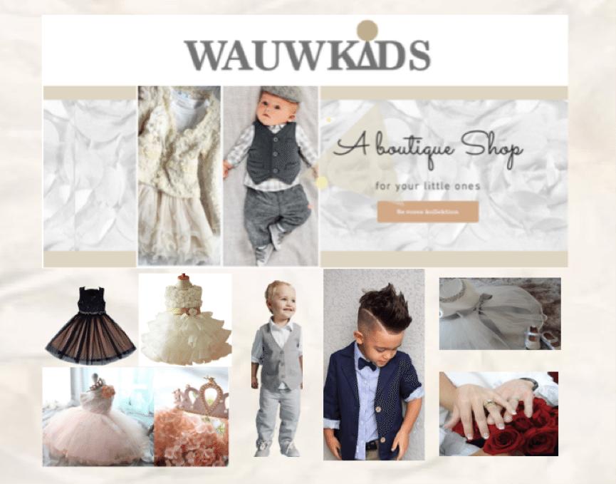 Wauwkids – brudepigekjoler & brudesvende tøj